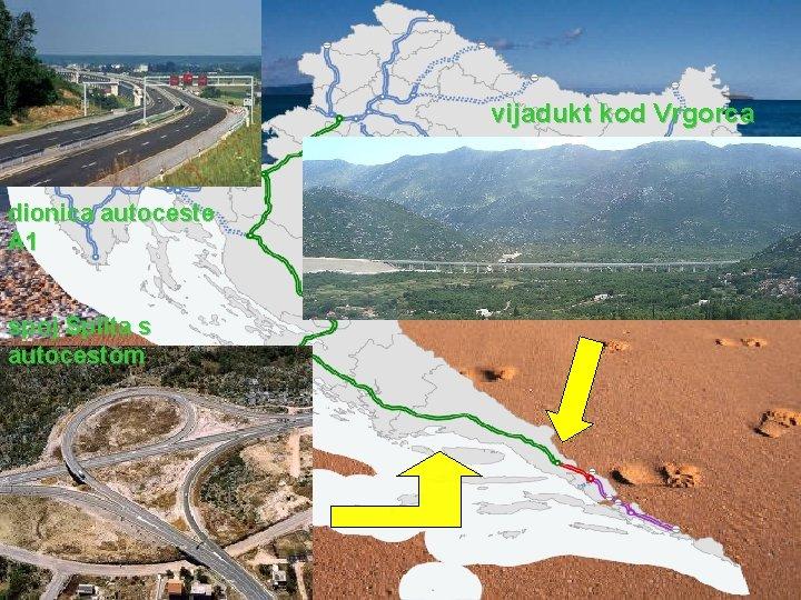 vijadukt kod Vrgorca dionica autoceste A 1 spoj Splita s autocestom