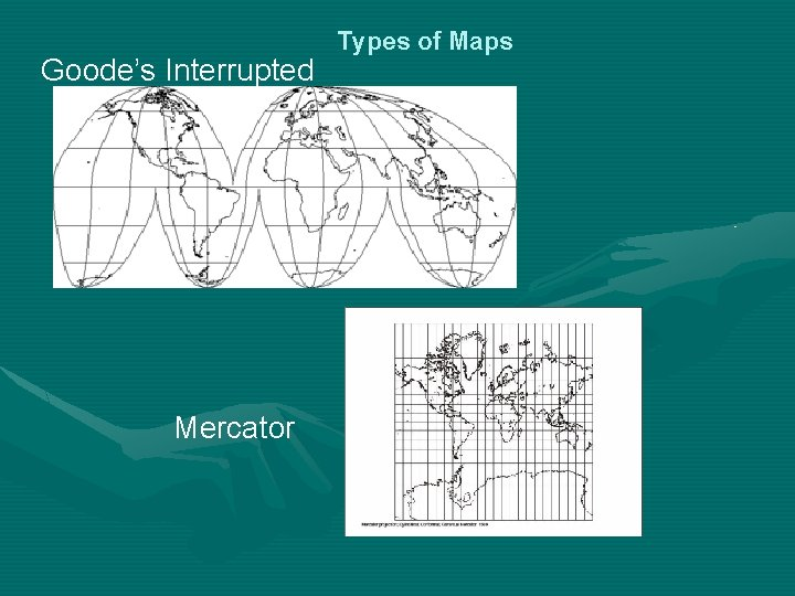 Goode's Interrupted Mercator Types of Maps