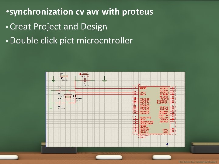 • synchronization cv avr with proteus • Creat Project and Design • Double