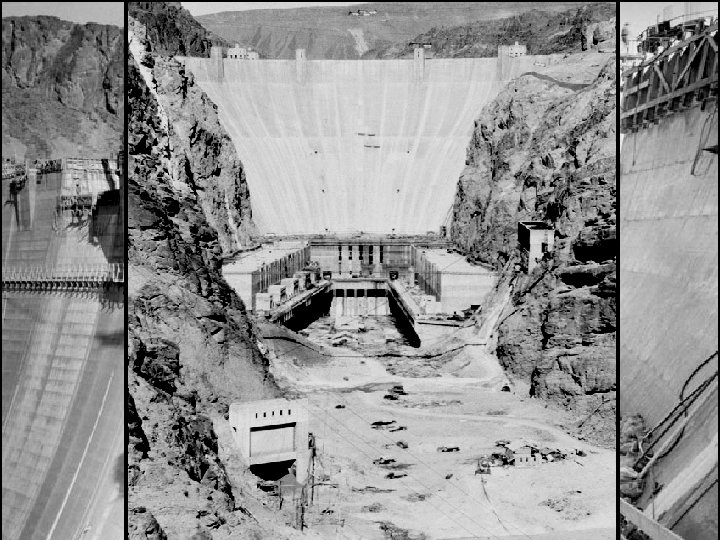 The Hoover administration initiated job-creation programs, like building the Hoover Dam