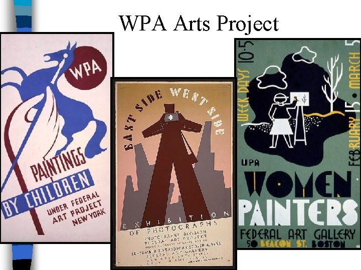 WPA Arts Project