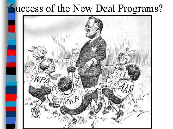 Success of the New Deal Programs?