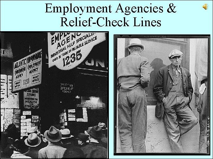 Employment Agencies & Relief-Check Lines
