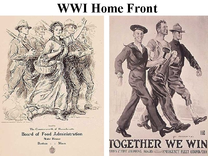 WWI Home Front