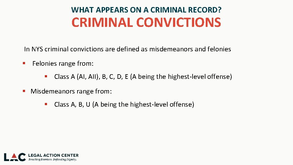 Your Criminal Record Where It Comes From And