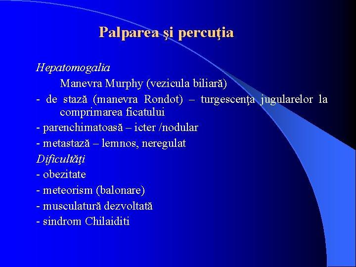metode pentru detoxifierea icterului obstructiv