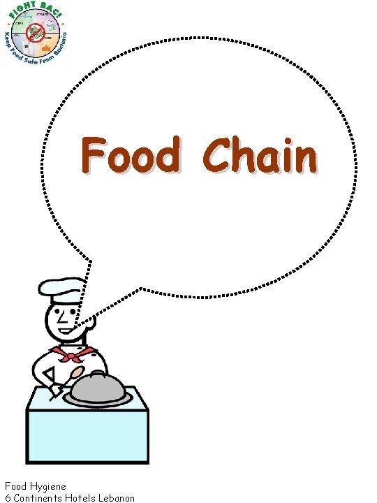 Food Chain Food Hygiene 6 Continents Hotels Lebanon