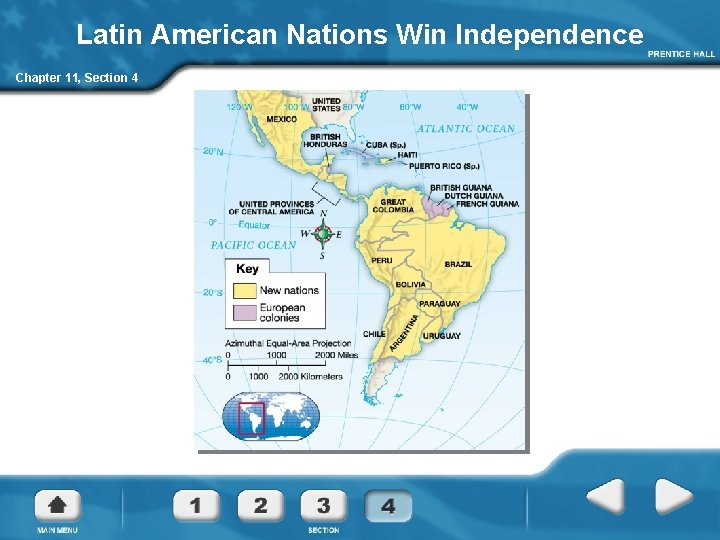 Latin American Nations Win Independence Chapter 11, Section 4
