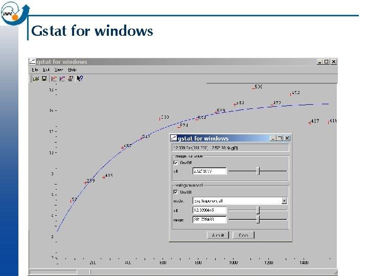 Gstat for windows