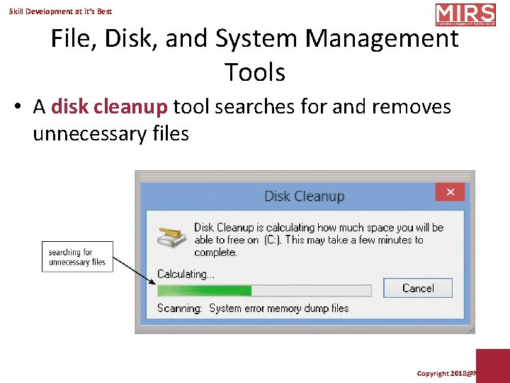 Which Of The Following Tools Searches For And Removes Unnecessary Files?