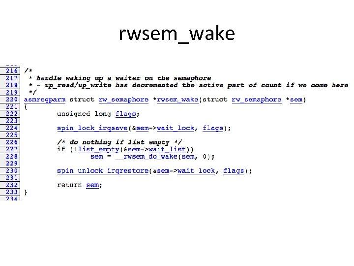 rwsem_wake