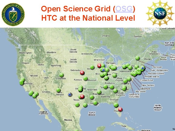 Open Science Grid (OSG) HTC at the National Level www. cs. wisc. edu/~miron
