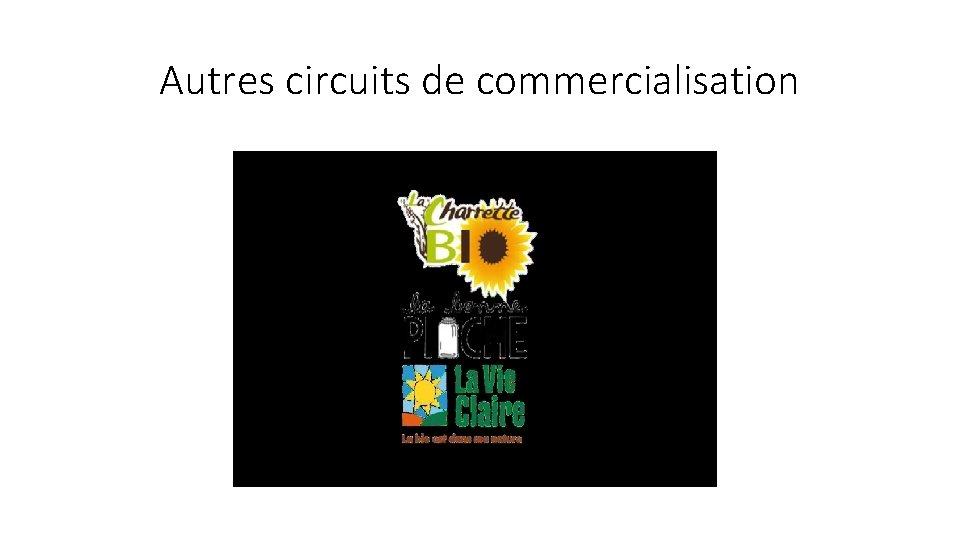 Autres circuits de commercialisation