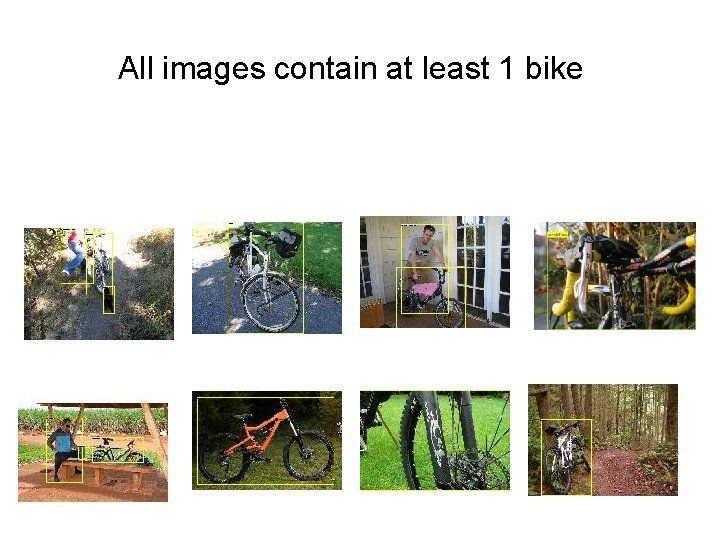All images contain at least 1 bike