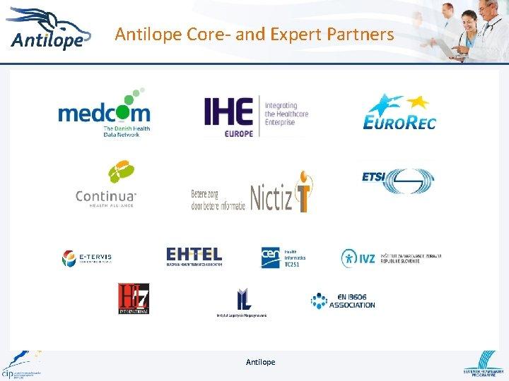 Antilope Core- and Expert Partners Antilope