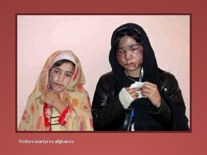 Petites martyres afghanes