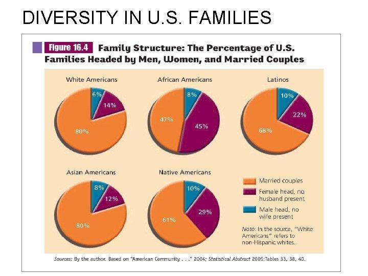 DIVERSITY IN U. S. FAMILIES