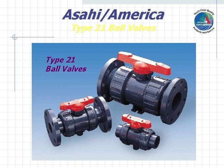 Asahi/America Type 21 Ball Valves
