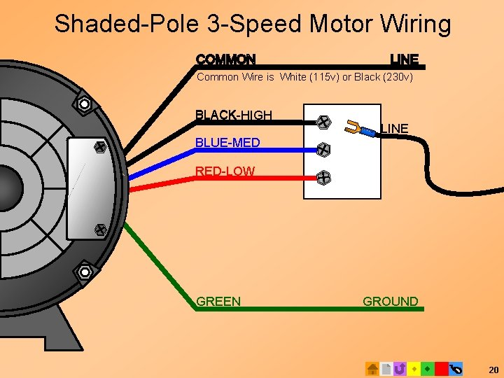 ICT BASIC ELECTRICAL TECH 100 E 2 Motors   Speed Psc Wiring Diagram With Taps      SlideToDoc.com
