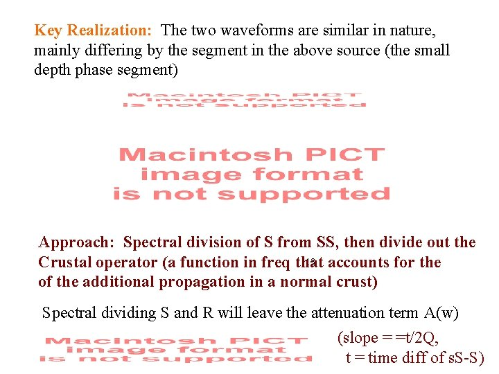 Key Realization: The two waveforms are similar in nature, mainly differing by the segment