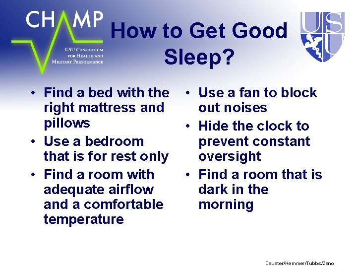 How to Get Good Sleep? • Find a bed with the right mattress and