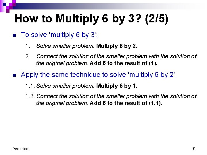 How to Multiply 6 by 3? (2/5) n n To solve 'multiply 6 by