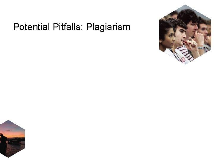 Potential Pitfalls: Plagiarism