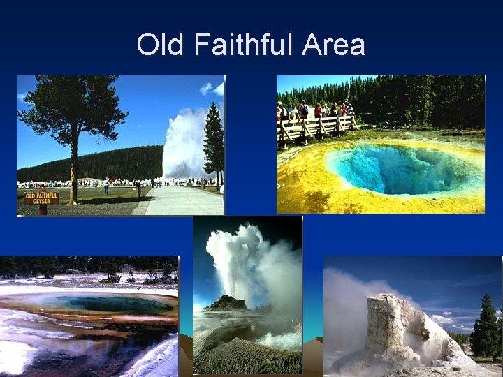 Old Faithful Area