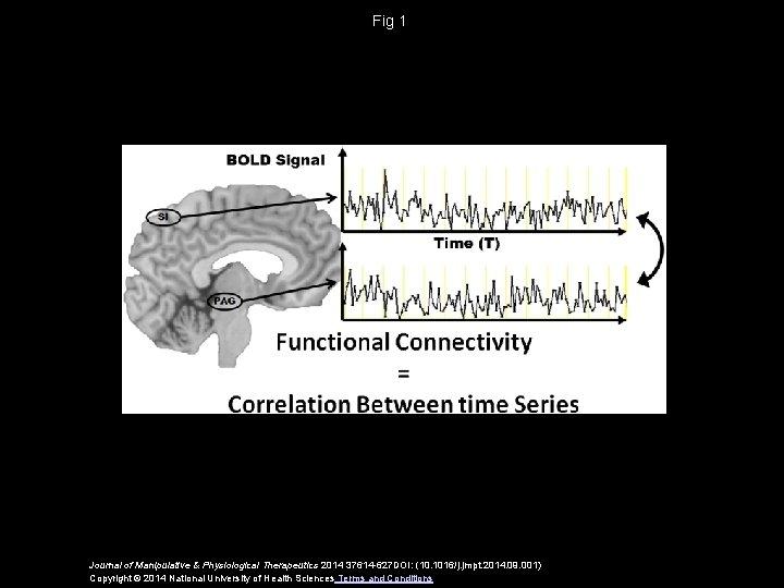 Fig 1 Journal of Manipulative & Physiological Therapeutics 2014 37614 -627 DOI: (10. 1016/j.