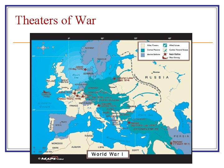 Theaters of War