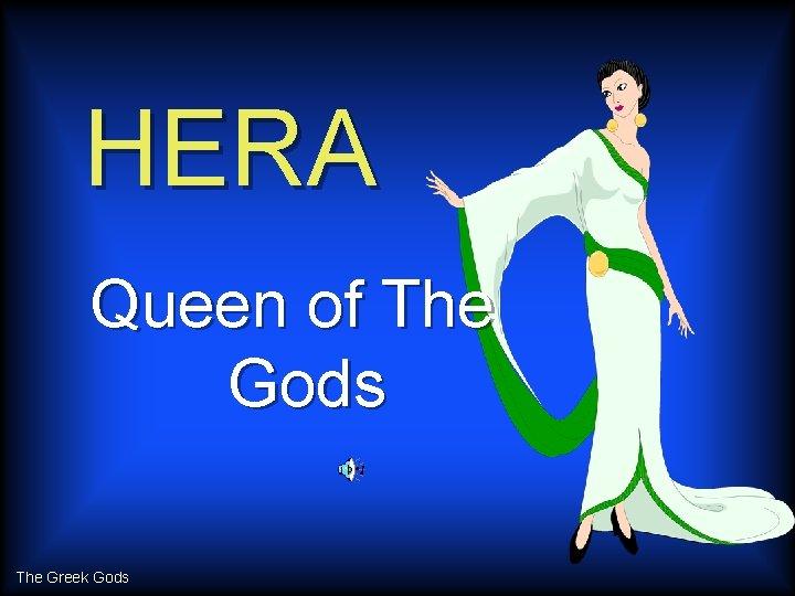 HERA Queen of The Gods The Greek Gods