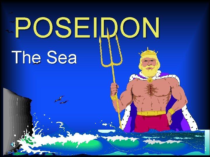 POSEIDON The Sea The Greek Gods