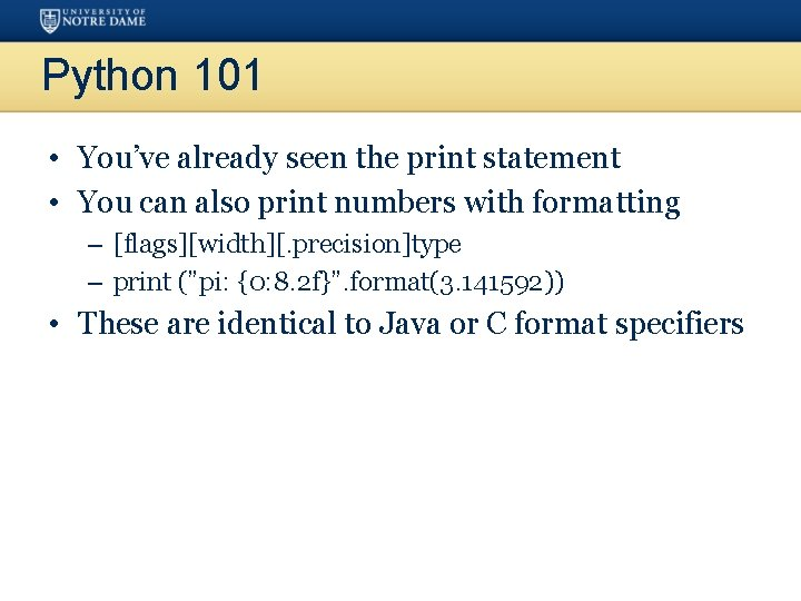 Python 101