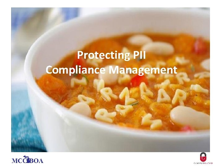 Protecting PII Compliance Management