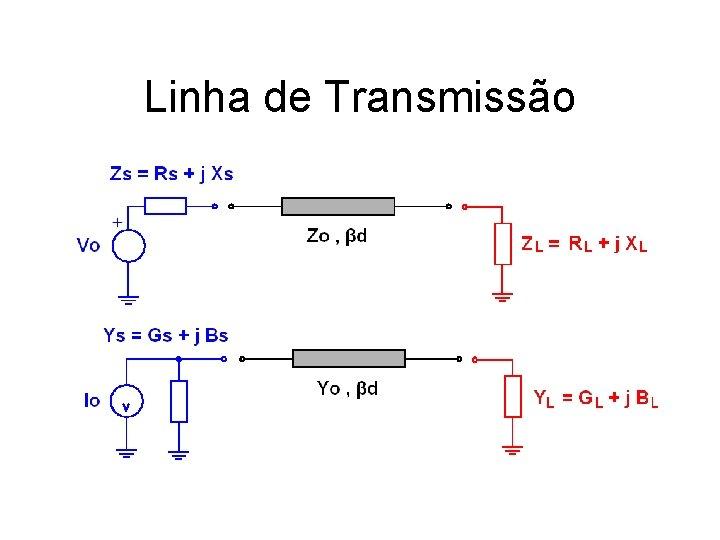 Linha de Transmissão