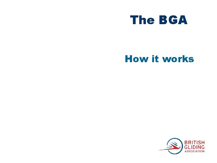 The BGA How it works
