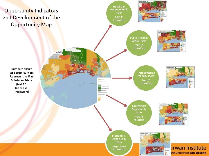 Opportunity Indicators and Development of the Opportunity Map Housing & Socioeconomic Index Map (5