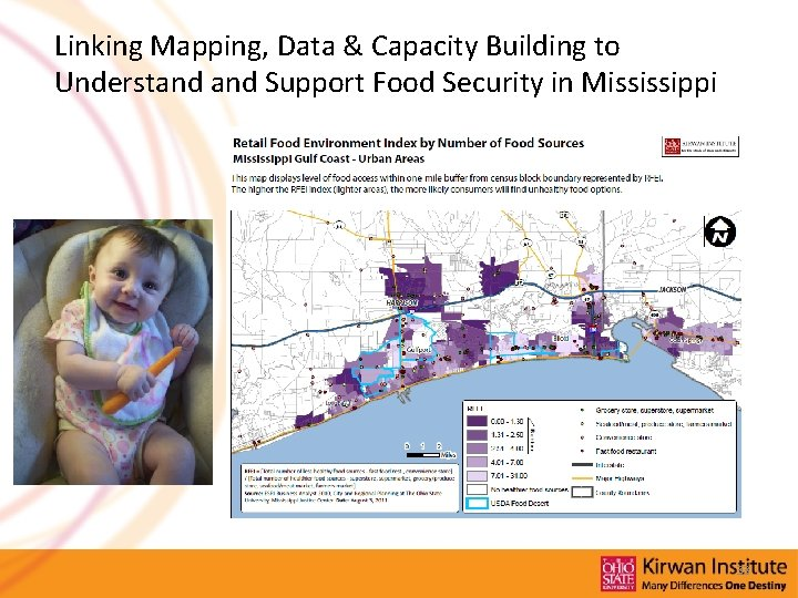 Linking Mapping, Data & Capacity Building to Understand Support Food Security in Mississippi 33