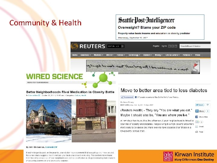 Community & Health