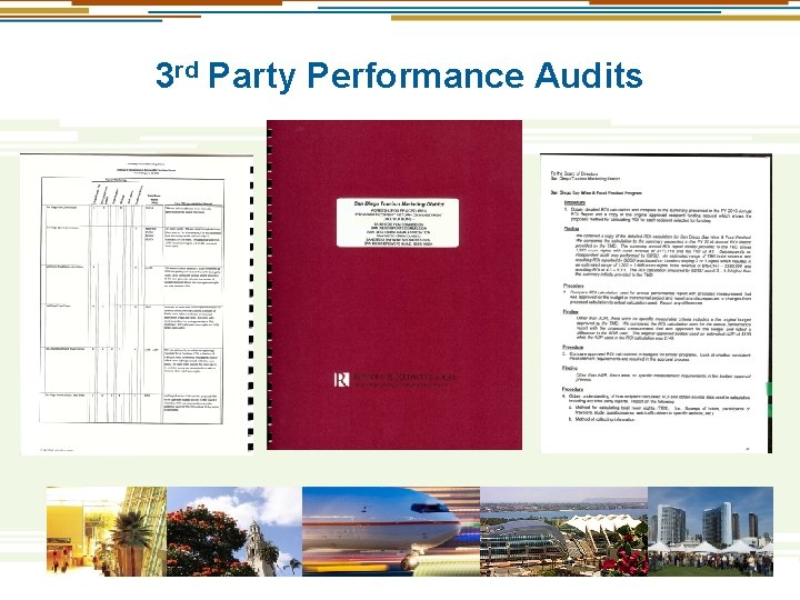 3 rd Party Performance Audits