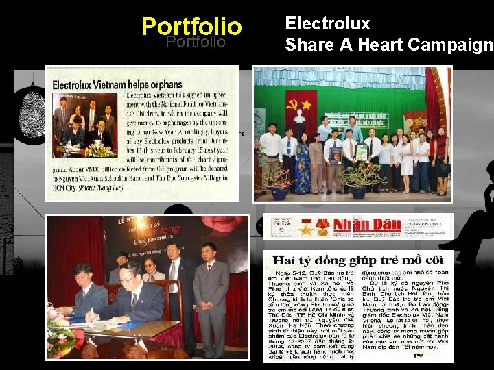 Portfolio Electrolux Share A Heart Campaign Integrated BTL Marketing Communications