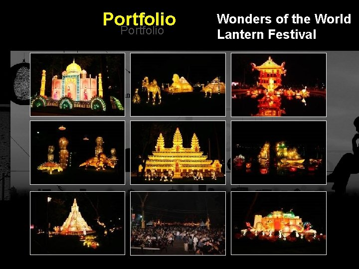 Portfolio Wonders of the World Lantern Festival Integrated BTL Marketing Communications