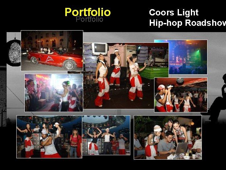 Portfolio Coors Light Hip-hop Roadshow Integrated BTL Marketing Communications
