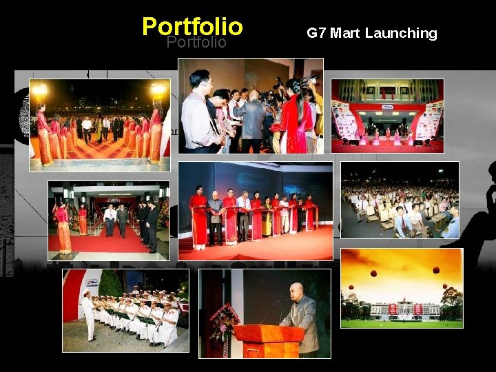 Portfolio G 7 Mart Launching Integrated BTL Marketing Communications