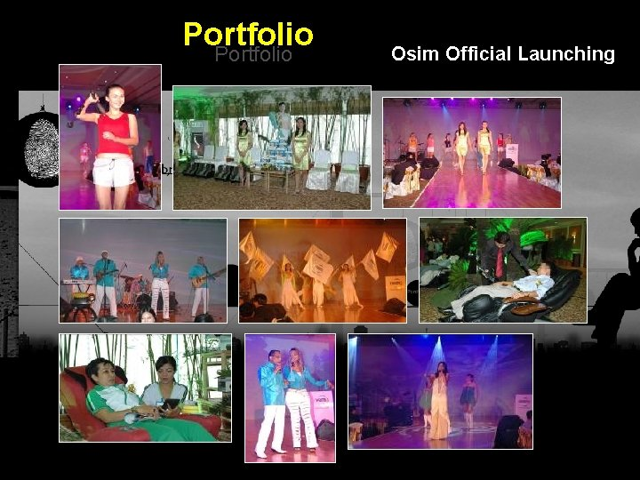 Portfolio Osim Official Launching Integrated BTL Marketing Communications
