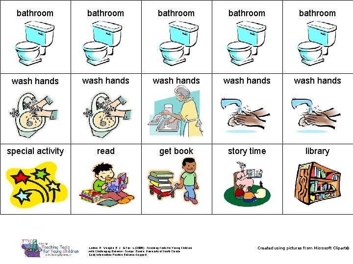 bathroom bathroom wash hands wash hands special activity read get book story time library