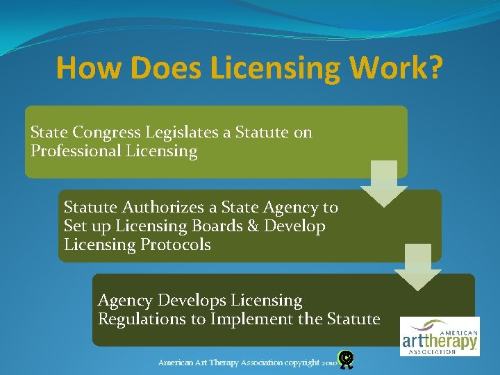 How Does Licensing Work? State Congress Legislates a Statute on Professional Licensing Statute Authorizes