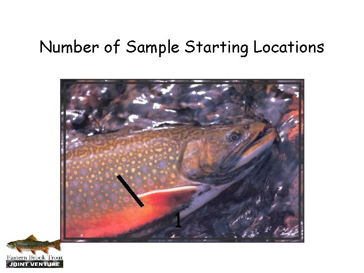 Number of Sample Starting Locations 1