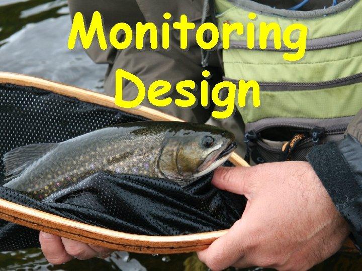Monitoring Design
