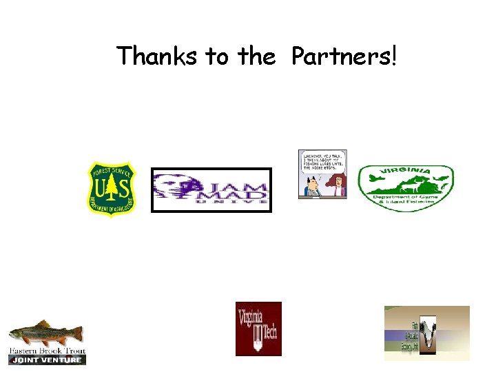 Thanks to the Partners!